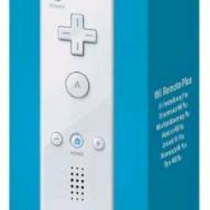 Wii U: Nintendo RemotePlus -ohjain (valkoinen)