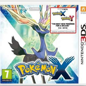 3DS: Pokemon X