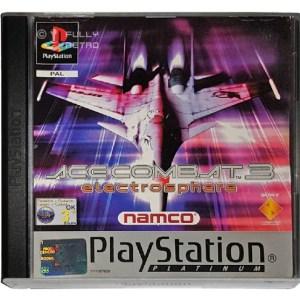 PS1: Acecombat 3 Platinum (Boxed) (käytetty)