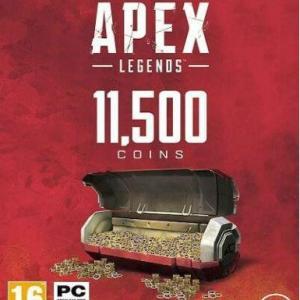 Apex Legends 11500 Apex Coins (UK PSN) (latauskoodi)