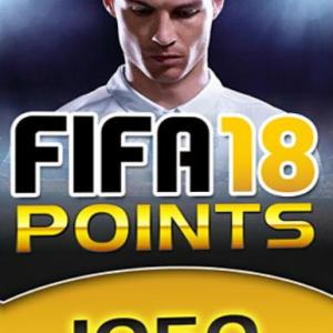 PC: Fifa 18 - 1050 FUT Points (latauskoodi)