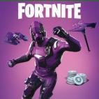 Xbox One: Fortnite Battle Royale Dark Vertex Skin + 500 V-Bucks (latauskoodi)