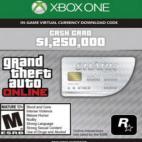 Xbox One: GTA 5 (Grand Theft Auto V): Great White Shark Cash Card (latauskoodi)