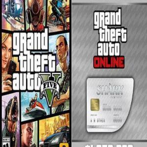 PC: Grand Theft Auto V GTA V &: Great White Shark Cash Card (latauskoodi)