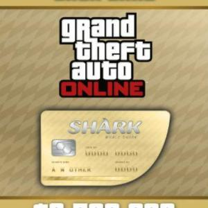 GTA 5 (Grand Theft Auto V): Whale Shark Cash Card (latauskoodi)
