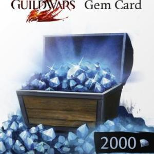 PC: Guild Wars 2 2000 Gems Card (latauskoodi)