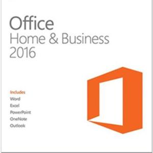 PC: Microsoft Office Home & Business 2016 (latauskoodi)