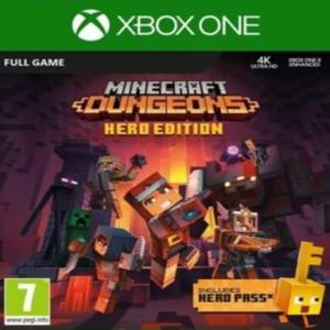Xbox One: Minecraft: Dungeons (Hero Edition) () (latauskoodi)