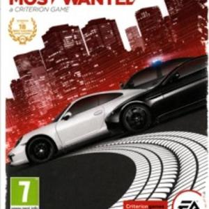 Need for Speed: Most Wanted ENG (latauskoodi)
