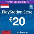PS4: Playstation Network Card (PSN) 20 EUR (Hollanti) (latauskoodi)