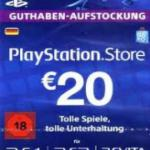 PS4: Playstation Network Card (PSN) 25 EUR (Saksa) (latauskoodi)