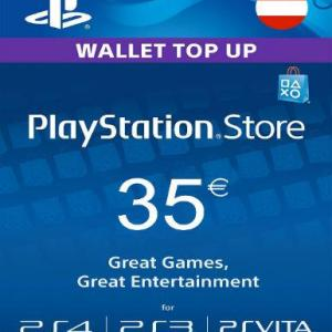 PS4: Playstation Network Card (PSN) 35€ (Austrian) (latauskoodi)