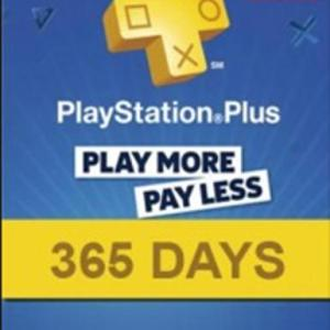 PS4: PlayStation Network Card (PSN) 365 Days (Espanja) (latauskoodi)