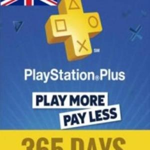PS4: PlayStation Network Card (PSN) 365 Days (Englanti) (latauskoodi)