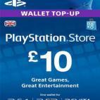 PS4: PlayStation Network Card (PSN) £10 (UK) (latauskoodi)