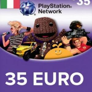 PS4: Playstation Network Card (PSN) 35 EUR (Italia) (latauskoodi)