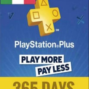 PS4: PlayStation Network Card (PSN) 365 Days (Italia) (latauskoodi)