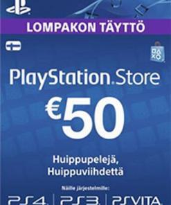 Ps4 Lahjakortti 10€