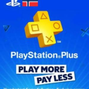 PS4: Playstation Network Card (PSN) 90 days (Norway) (latauskoodi)