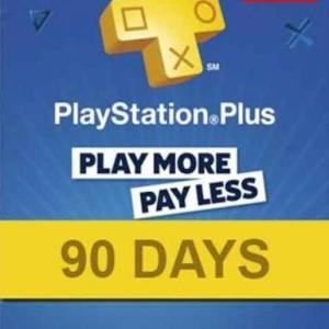 PS4: PlayStation Network Card 90 Days (Puola) (latauskoodi)