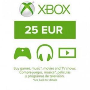 Xbox One: Xbox Live 25 EUR (latauskoodi)