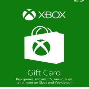 Xbox One: Xbox Live 25 USD (latauskoodi)