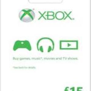 Xbox One: Xbox One: Xbox Live Card 15£: (latauskoodi)