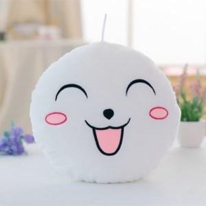 Hehkuva Emoji tyyny (Valkoinen)