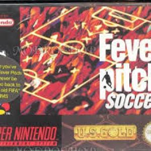 Retro: Fever Pitch Soccer SNES (BOXED) (käytetty)