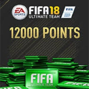 PC: Fifa 18 - 12000 FUT Points (latauskoodi)