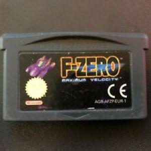 GBA: F-Zero (GBA) Loose (käytetty)