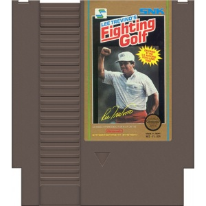 Retro: Fighting Golf  NES (Loose) (käytetty)
