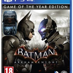 PS4: Batman Arkham Knight Game of the Year Edition