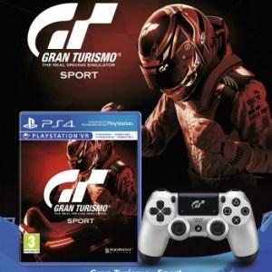 PS4: PS4 DualShock Special Edition + Gran Turismo Sport
