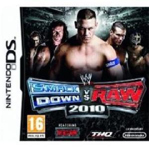 NDS: WWE Smackdown vs Raw 2010 (käytetty)
