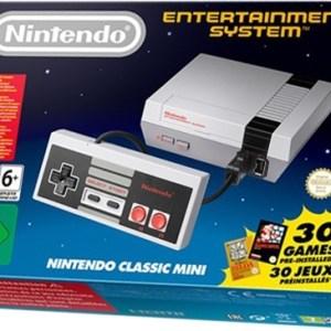 Retro: Nintendo Classic Mini NES (konsoli + ohjain)