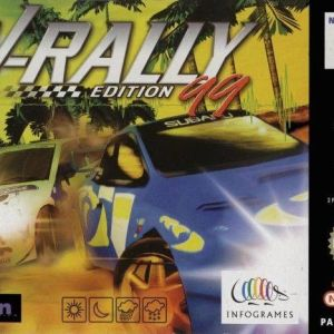 Retro: V-Rally (N64) Boxed  (käytetty)