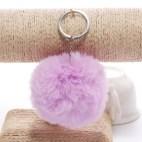 Pörröinen avaimenperä pallo (Purppura)