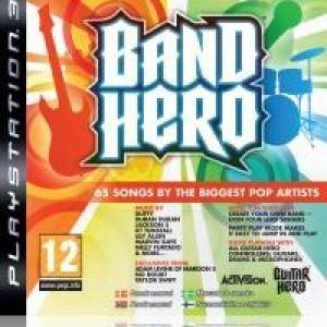 PS3: Band Hero (peli) (käytetty)