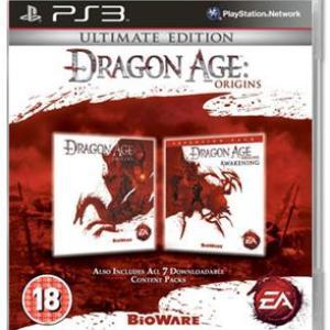 PS3: Dragon Age:Origins Ultimate Ed (käytetty)