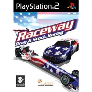 PS2: Raceway Drag & Stock Racing (käytetty)