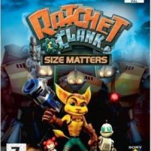 PS2: Ratchet & Clank Size Matters (käytetty)