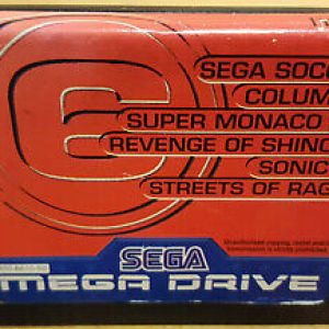 Retro: Mega 6 Vol 3 (Sega Mega Drive) (käytetty)