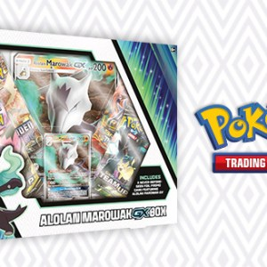 Pokemon Alolan Marowak GX Box