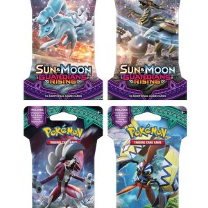Pokemon Sun and Moon Guardians Rising Booster