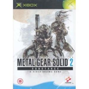 Xbox: Metal Gear Solid 2: Substance (käytetty)