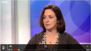 MG Harris on BBC Daily Politics