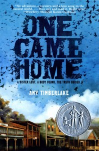 One Came Home by Amy Timberlake (historical fiction)