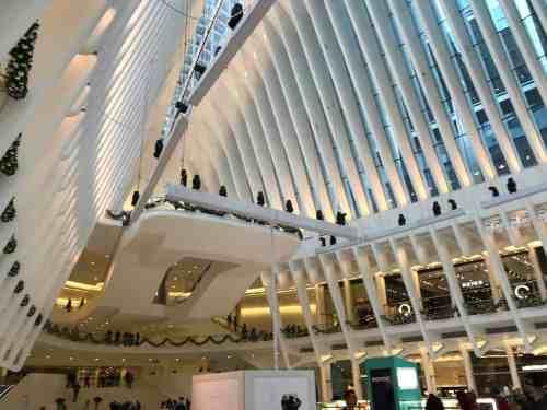 WTC Oculus Holiday Display
