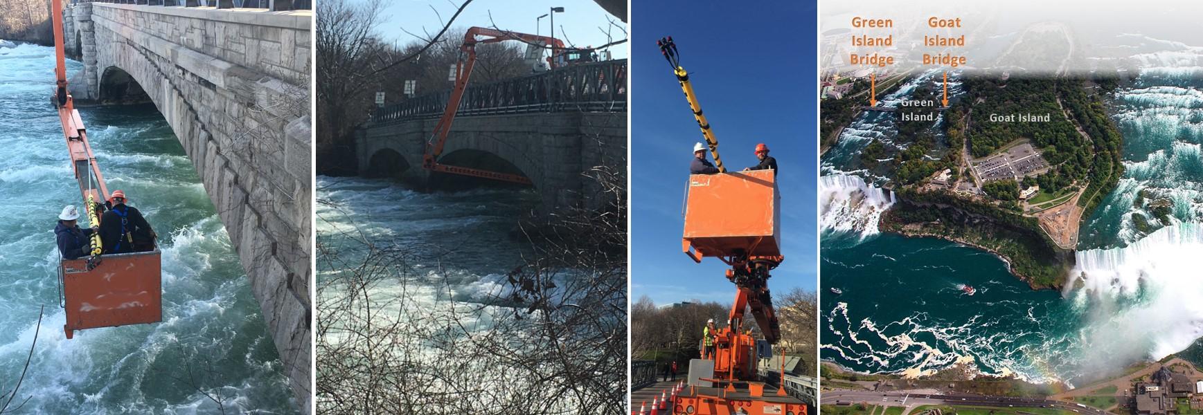 Niagara River Bridge Inspection